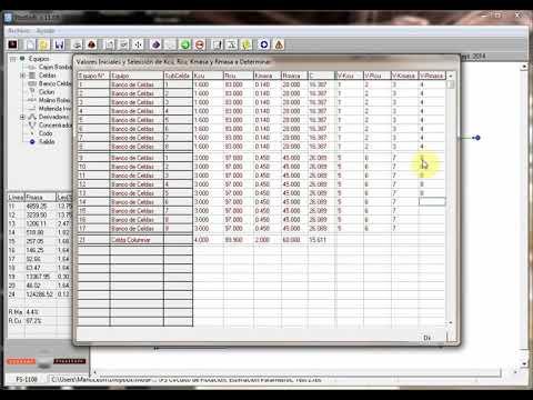 FlotSoft Estimación de Parámetros